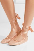 Ballet Beautiful Satin Ballet Slippers Pink